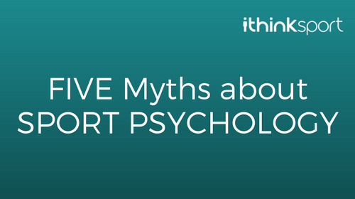sport psychology myths