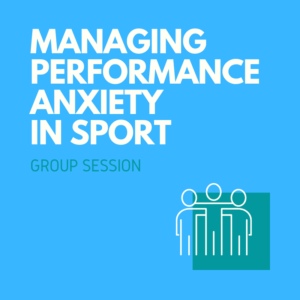 performance anxiety sport